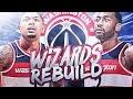 TRADING JOHN WALL?! WASHINGTON WIZARDS REBUILD! NBA 2K19