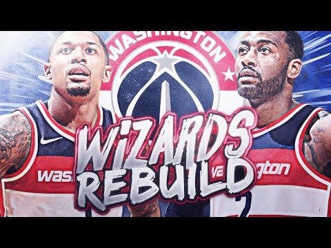 TRADING JOHN WALL?! WASHINGTON WIZARDS REBUILD! NBA 2K19
