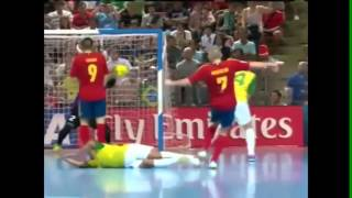 Brasil 3 x 2 Espanha - Final do Mundial de Futsal 2012 [Terceiro Tempo]