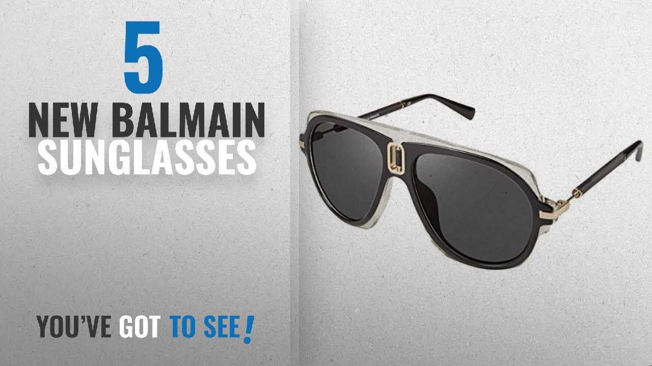 a23f7ec9be Top 10 Balmain Sunglasses   Winter 2018    Sunglasses Balmain 8093 ...