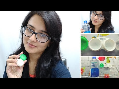 HOW TO PUT & REMOVE CONTACT LENSES || Tips on How to Store Contact Lenses || SWATI BHAMBRA
