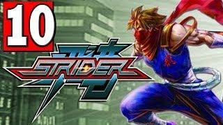 """STRIDER: 2014 Gameplay Walkthrough Part 10 (MUTANT MILLIPEDE) HD XBOX ONE PS4 PC """"STRIDER PS4"""""""