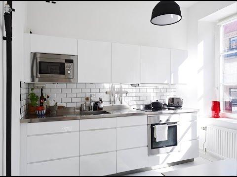 Плитка  Белая Плитка на кухне