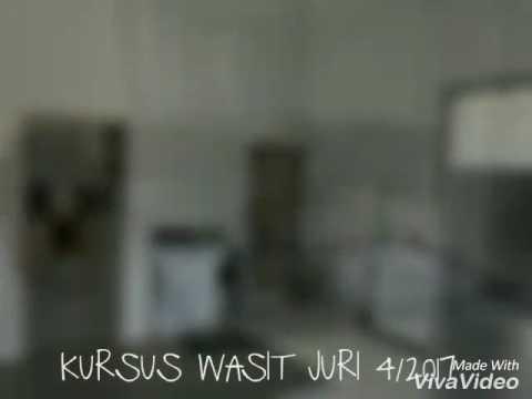 KURSUS WASIT JURI 3 KEBANGSAAN 4/2017 PERLIS