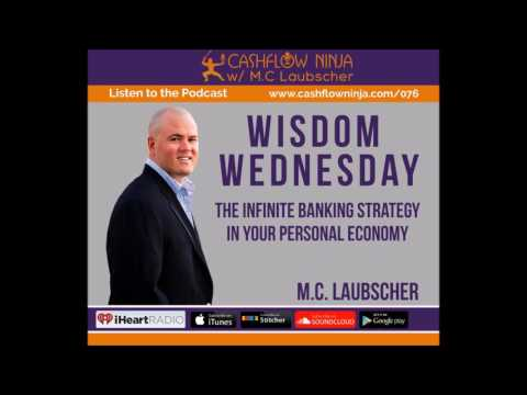 076: M.C. Laubscher: Wisdom Wednesday: The Infinite Banking Strategy In Your Personal Economy