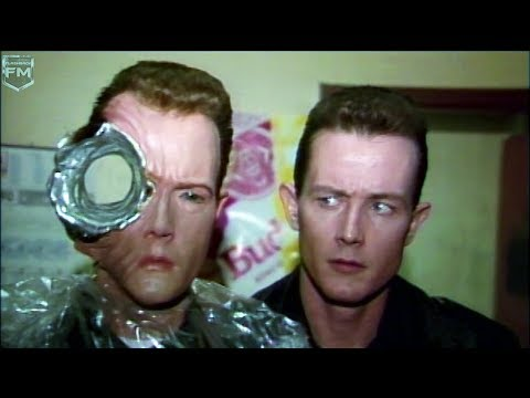 Creating VFX T-1000 Robert Patrick 'Terminator 2' Behind The Scenes