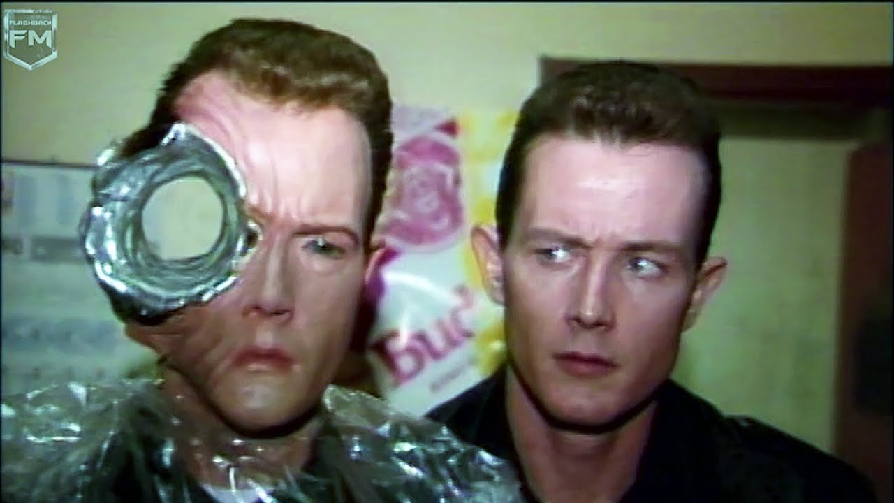Creating VFX T-1000 Robert Patrick 'Terminator 2' Behind The Scenes
