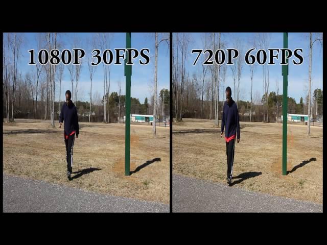 Canon EOS 60D 30FPS vs 60FPS test - clipzui com