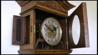 Furtwangler L Sohne Antique Grandfather Clock