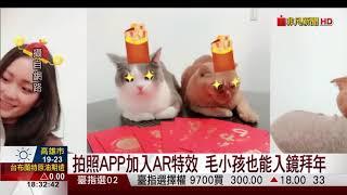 【非凡新聞】拍照APP搶搭豬年熱潮!祝賀影片DIY好應景