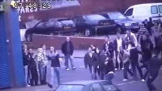 Football Hooligans - Leeds v Millwall - 2007