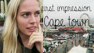First Impression of Cape Town   Cornelia