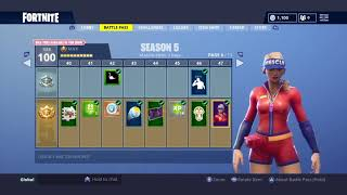Worst to Best Fortnite Season 5 BP Skins Conclusion Plus *NEW CLOAKED STAR*