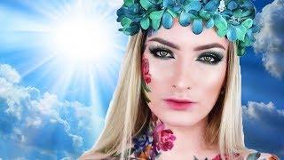 ✨Stunning Floral Makeup For the GODS | Best Makeup Tutorials 2019 | Makeupholic
