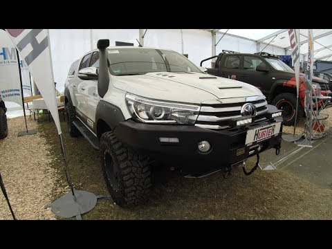 TOYOTA HILUX OFFROAD SHOW PICK-UP BY HURTER ! NEW MODEL 2017 ! AEROKLAS HARDTOP ! WALKAROUND !