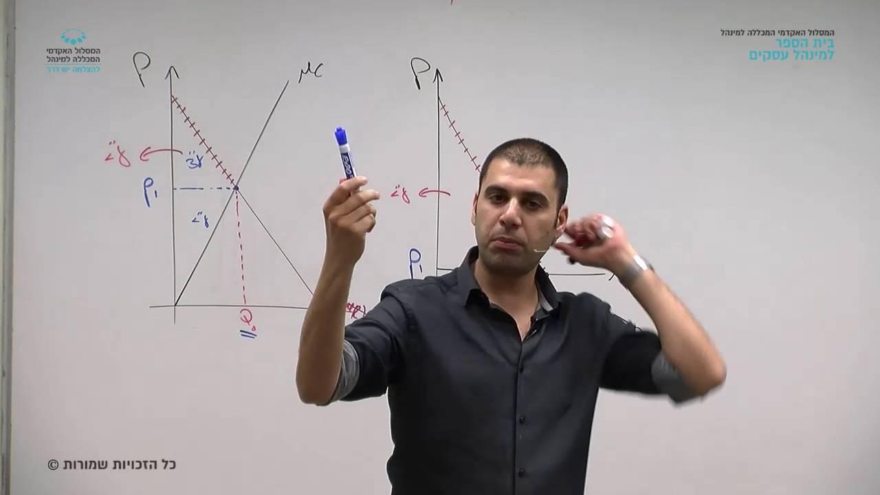 """תרגול """"תורת היצרן"""" - תרגול 10 / מר אריק דהבני"""