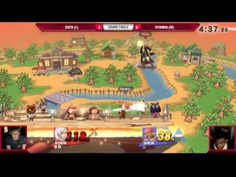 VS Weekly 4/13/17 - Grand Finals - Dath (Robin) vs. Vitamin (Fox) - Smash 4