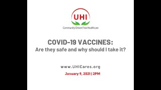 Covid-19 Vaccines: Are they safe and why should I take one?