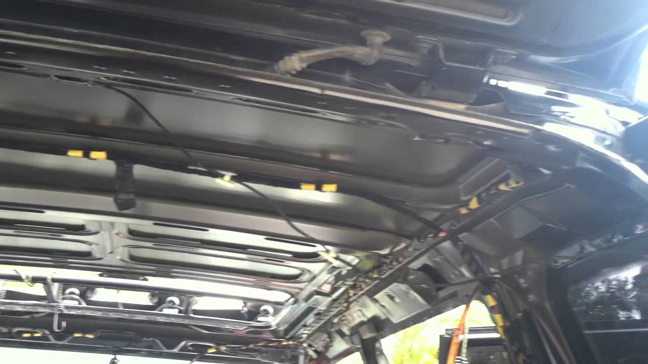 Range Rover P 38 Sunroof Youtube