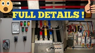 Electrical Control Panel Details In Hindi/all about control panel
