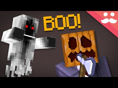 5 Ways To Scare People In Minecraft!