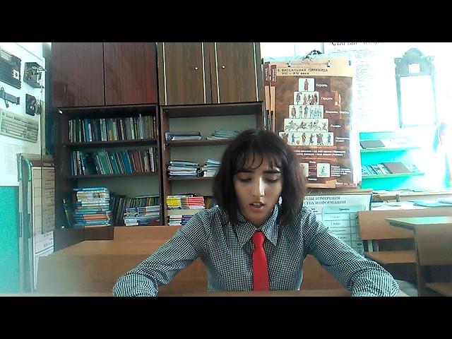 Изображение предпросмотра прочтения – АзизаСултанова читает произведение «Молитва» А.И.Солженицына
