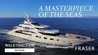 ACE | 85M/279' Lurssen Yacht for sale - Superyacht walkthrough