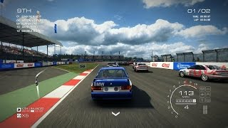 Grid Autosport PC [HD]: BMW E30 Touring Car in Silverstone GP Circuit, Touring Legends Pack DLC