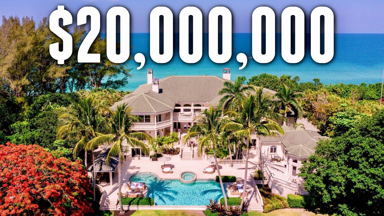 Touring a $20,000,000 Private Island | Florida Mega Mansion
