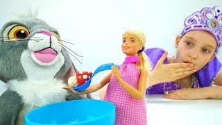 #МультикиДляДевочек София Прекрасная: Клевер съел мухоморы! #ИгрыДляДетей с куклой #Барби