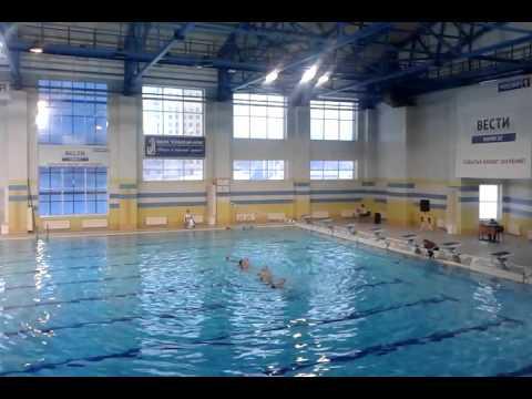 Синхронное плавание. Младшая группа. Йошкар-Ола.27.12.15