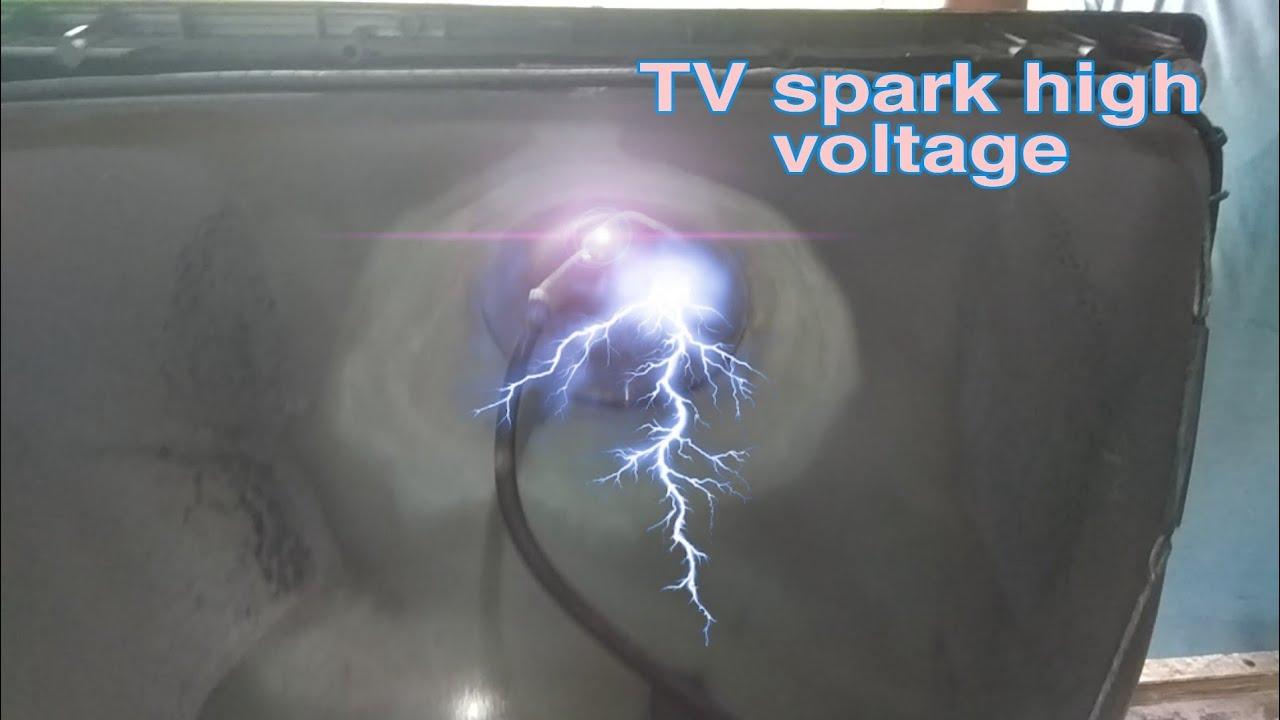 tv cap spark problem    high voltage aparking problem .#tv repair in hindi #tv repair