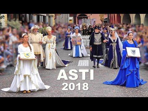 Palio di Asti 2018 Corteo Storico composto da circa 1200 figuranti. Historical procession