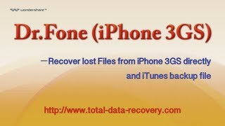 Data Recovery for iOS | Recover data from iPhone 3GS directly and iTunes backup