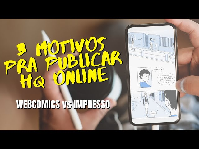 Porque publicar quadrinhos online