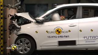 Euro NCAP Crash Test of Hyundai i20 2015