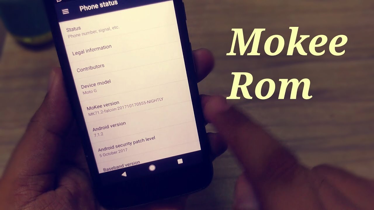 How to install android nougat in moto g 1st gen | Mokee rom and its  features |