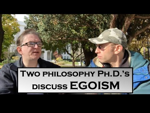 A Discussion With Prof. Bernard Molyneux About Selfishness And Egoism - The Selfishness Project #20