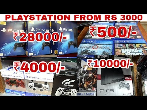 Play Station Market In Delhi | Cheap Rate | Best Place To Buy PS3,PS4| Palika Bazar