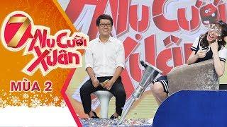 Thương Hari Won Bị Tiến Luật Chơi Xỏ Bị Bắn Tan Nát | 7 Nụ Cười Xuân Mùa 2 | Tập 18 Full HD