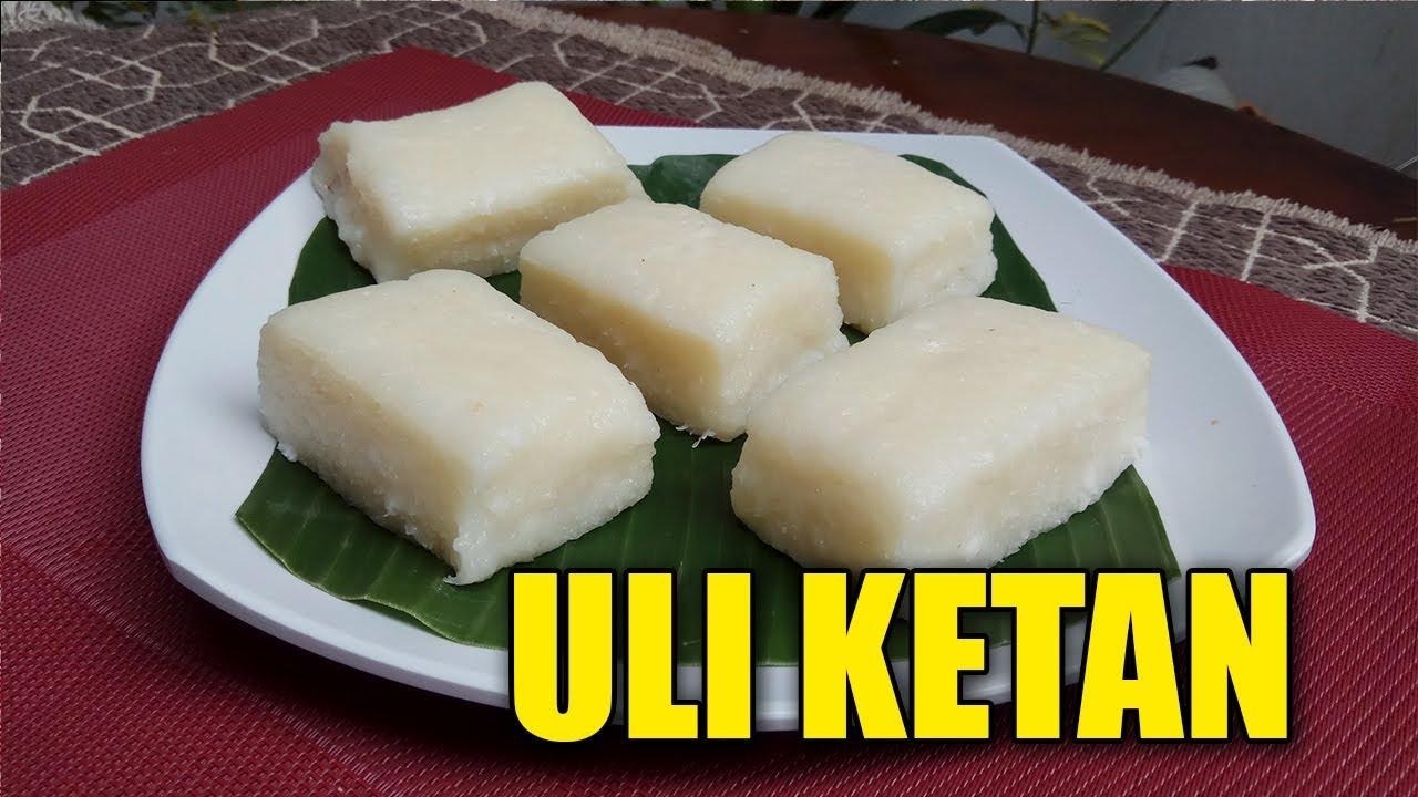 Resep Uli Ketan By Yani Cakes 84 Youtube