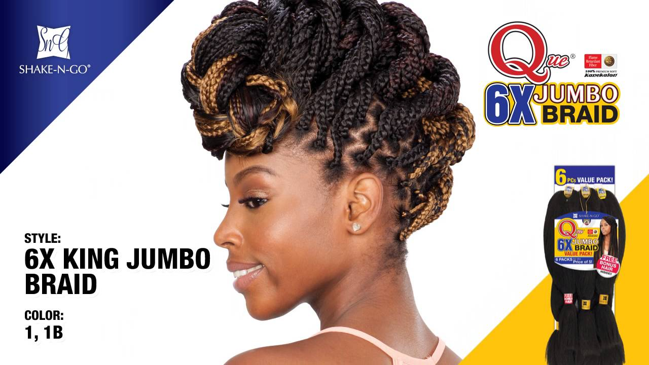 Freetress Que 6x Jumbo Braid