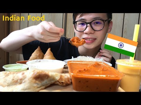 INDIAN FOOD FEAST MUKBANG | EATING SHOW