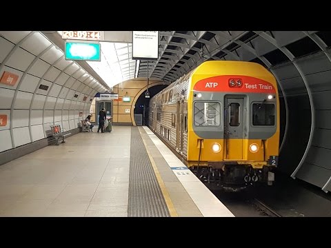 Sydney Trains Vlog 1365: DTRS Test Train Y2 On The Epping - Chatswood Rail Link