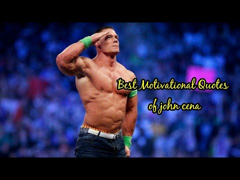 Best Quotes Of John Cena Wwe Motivational Quotes Youtube