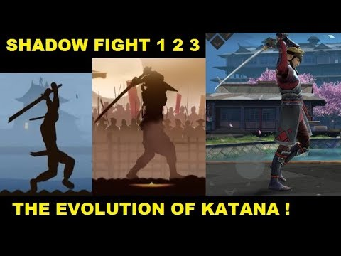 Shadow Fight 3 2 1 The Evolution of KATANA ! The Japanese Sword !