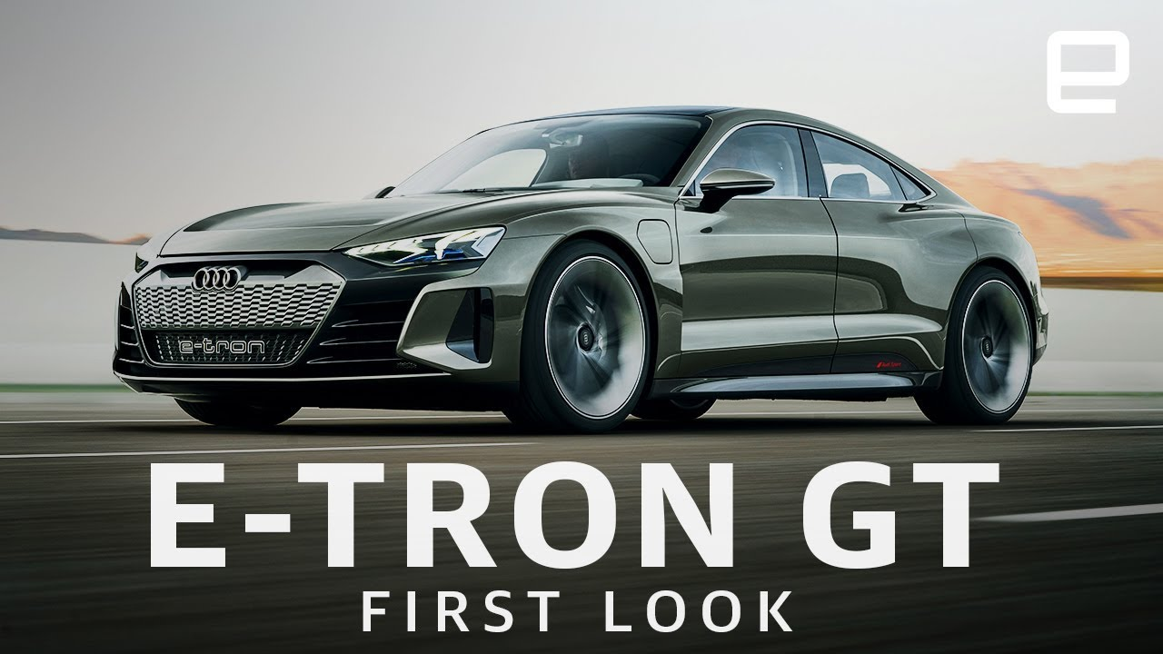 Audi E Tron Gt First Look Fast And Beautiful Youtube
