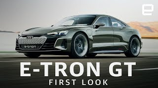 Audi's electrified e-tron lineup just got a bit more crowded. the automaker's new impressive-looking gt is sure to become an instant favorite for not ...
