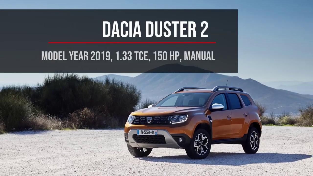 0 100 Km H Acceleration Dacia Duster 2 1 33 Tce 150 Hp Manual Youtube