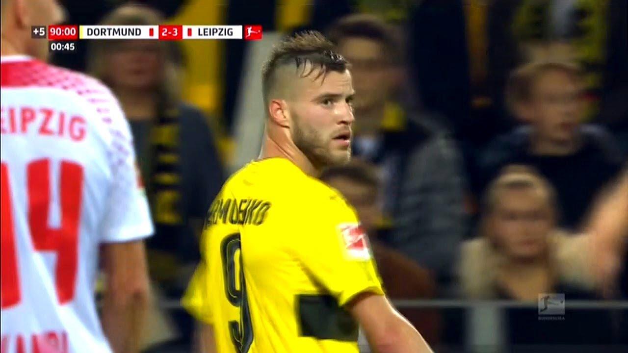 Andriy Yarmolenko Borussia Dortmund vs RB Leipzig ☆ Away